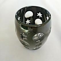 Faberge Black Galaxy Crystal  Shot Glass - $125.00