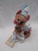 "Annalee Dolls 1990 ""Maid Marion Princess Mouse"" Mint Signed With Tags - $45.00"