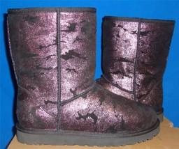 UGG Australia Classic Short Metallic Camo Boots Size US 7,EU 38 NEW RARE - $93.01