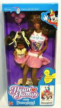 1989 Mattel The Heart Family Visits Disneyland Park African American Dolls - $129.99