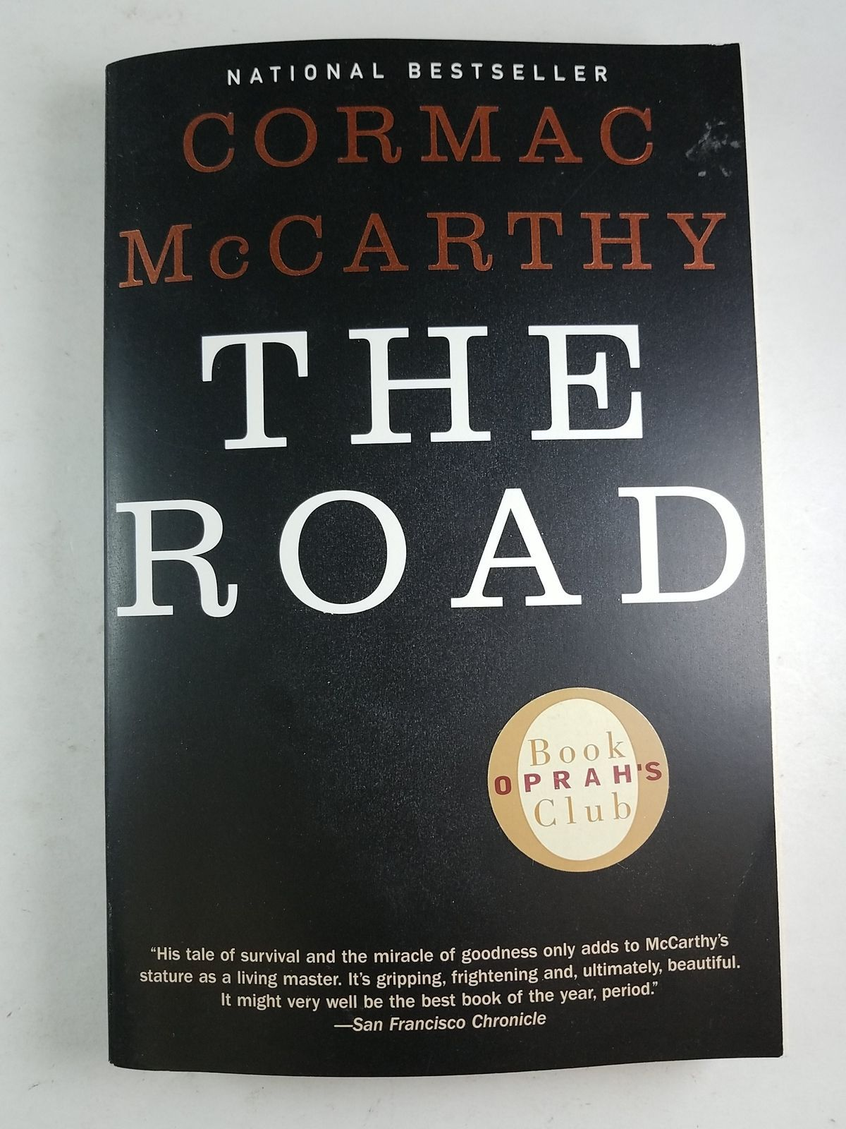 irony in the road cormac mccarthy