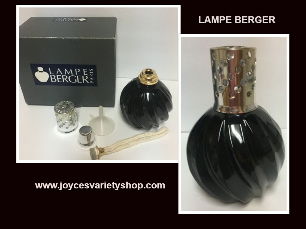 Primary image for Lampe Berger Catalytic Fragrance Burner Black Swirl