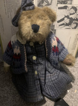 "Boyds Bears 1998 Collectors Club 12"" Bear Loyal Order Of Friends Of Boyds  - $12.87"
