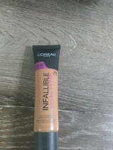 L'Oréal Infallible Total Cover Foundation Full Coverage 1.0oz. 309 Caram... - $9.85