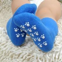 Children Socks Cotton Spandex Autumn Sport Anti Slip Footwear Accessorie... - $5.39