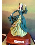 San Francisco Music Box Co - Scarlett in Green Dress Gone With the Wind - $150.00