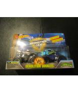 Cyborg Shark Crushstation Demolition Doubles Hot Wheels Monster Jam - $19.59