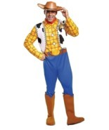 Disguise Disney Toy Story Sheriff Woody Lujo Adulto Disfraz Halloween 50550 - $60.71
