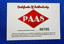 PEYTON MANNING / AUTOGRAPHED INDIANAPOLIS COLTS CUSTOM FOOTBALL JERSEY / COA image 6