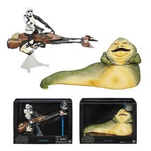 Star Wars Black Series 6-inch Deluxe Action Figures Wave 1 - Jabba, Bike... - $123.74