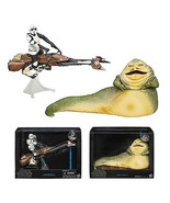 Star Wars Black Series 6-inch Deluxe Action Figures Wave 1 - Jabba, Bike... - €103,45 EUR