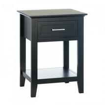 Black Crosstown Side Table - $136.90