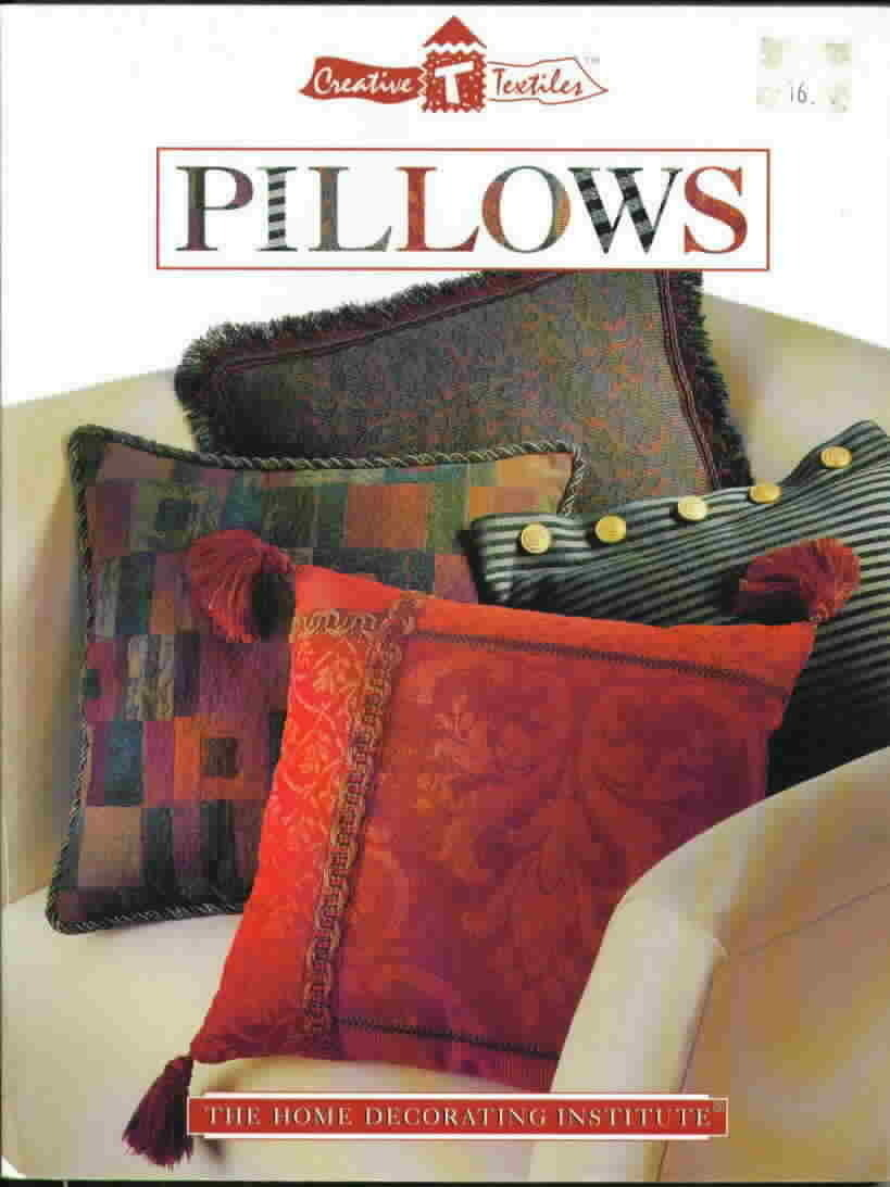 Creative textiles pillows