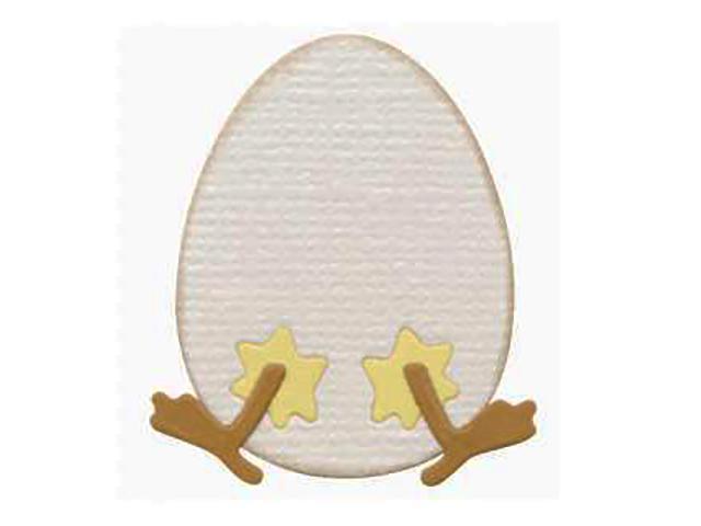 QuicKutz Chick & Egg Die #KS-0931, Set of 2