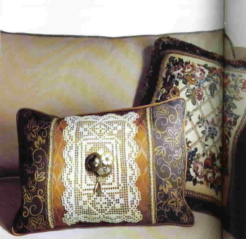 Pillows from Creative Textiles The Home Decorating Institute