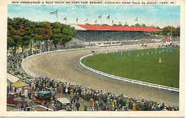 York County Racetrack York Pennsylvania Vintage Post Card - $5.00