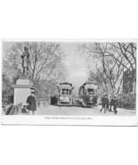 Public Garden Subway Boston Mass 1906 Vintage Post Card - $6.00