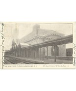 New Union Station Schenectady  New York 1906 Post Card - $7.00