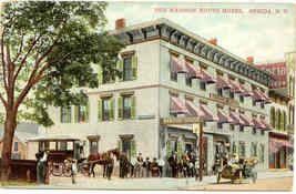 Madison House Hotel Oneida New York 1913 Post Card  - $6.00