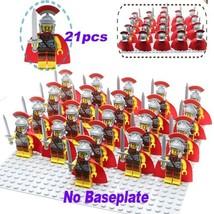 21 PCS/Set ROMAN COMMANDER ARMY Minifigure Bricks Building Blocks Toys K... - $27.45