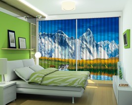 3D Tall Hill Meadow 22 Blockout Photo Curtain Print Curtains Drapes US L... - $177.64+