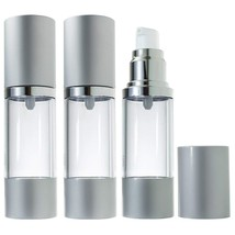 Airless Pump Bottle Refillable Container - 1 oz 3 Pack - $22.62