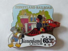 Disney Trading Pins 141452 DLR - 65 Years of Magic - Disneyland Railroad - $46.45