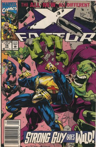 X-Factor #74 Vol. 1 January 1992 [Comic] by Peter David; Larry Stroman