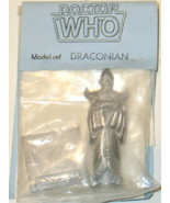 Doctor Who Draconian Figure Metal Fine Art Casting 1983 NEW UNUSED - $19.34
