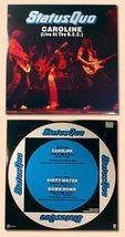 "hard rock STATUS QUO Caroline LIVE uk 1982 12"" EP PS image 1"