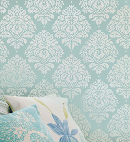 Primary image for Kerry Damask Wall Stencil - Small - Reusable wall stencils.Better than wallpaper