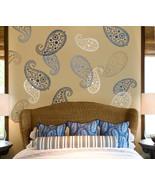 Stencil Vintage Paisley MED, Reusable wall stencil for DIY home decor - €17,91 EUR