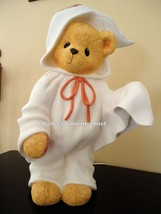 Cherished Teddies Nightlight Large Stacie Ghost 1996 Used In Box SIGNED - $123.70