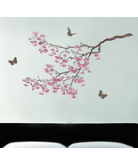 Stencil Cherry Blossoms, Reusable stencil for walls better than decals - €44,85 EUR