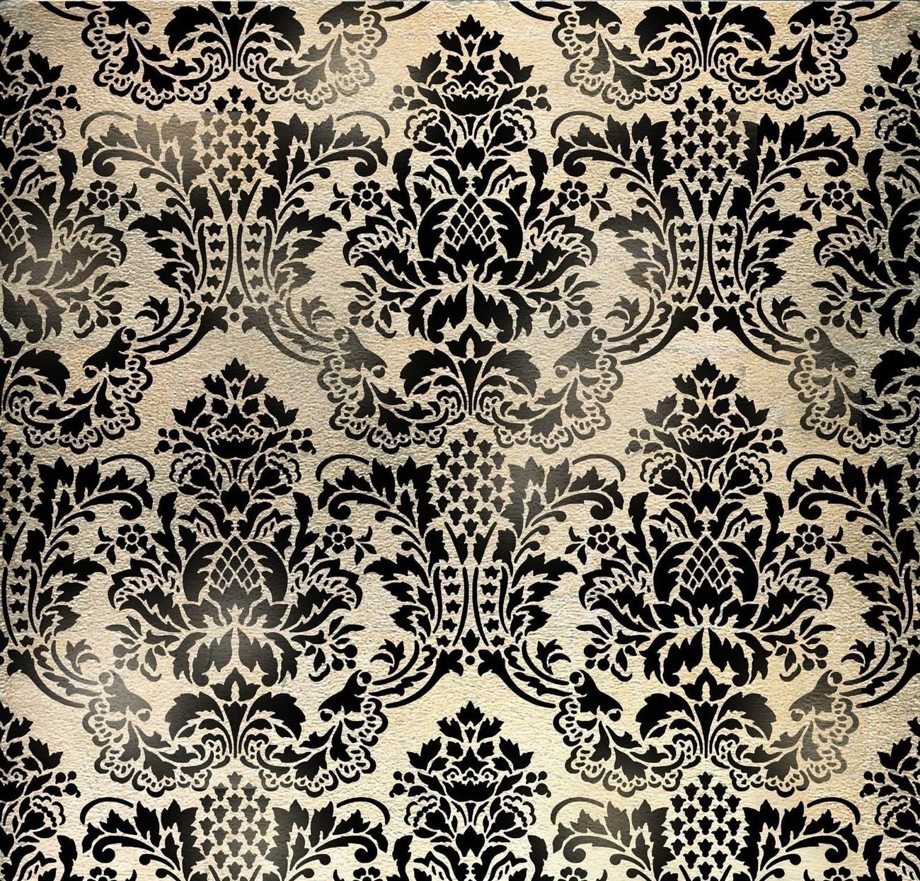 simple damask pattern - HD1300×1245