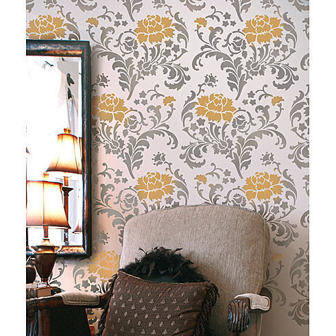 Primary image for Julia Allover Stencil Pattern - Reusable stencils just like wallpaper