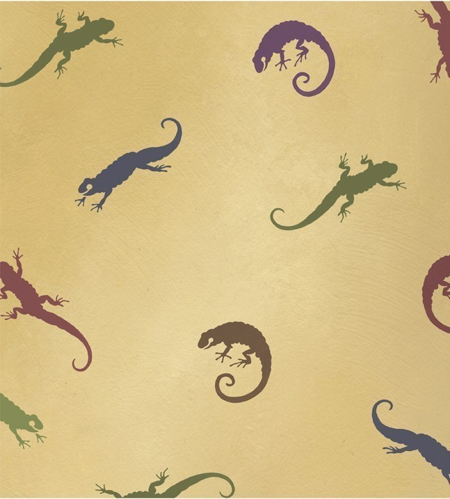 Primary image for Reusable Stencils Little Salamanders 3 pc kit, DIY Kids room decor