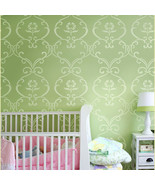 Stencil Simple Rhyme, Reusable stencil for DIY Nursery kids room decor - €34,07 EUR