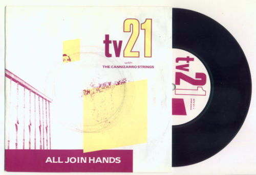 """post-punk/darkwave TV21 All Join Hands DECCA uk 7"""" PS"""