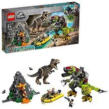 LEGO Jurassic World T. rex vs Dino-Mech Battle 75938, New 2019 716 Pieces - $109.93