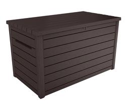 Keter XXL 230-Gallon Deck Box, Brown - Ready to Ship image 1