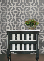 Geometric Stencil Shipibo, DIY Reusable wall stencils not wallpaper - $39.95