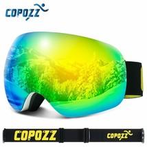Men Women Ski Goggles Frameless Outdoor Sport Skiing Glasses Big Face - $36.02+