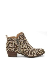 Lucky Brand Basel Side Zip Ankle Boots (Natural Leopard, 5.5 US) - $68.31