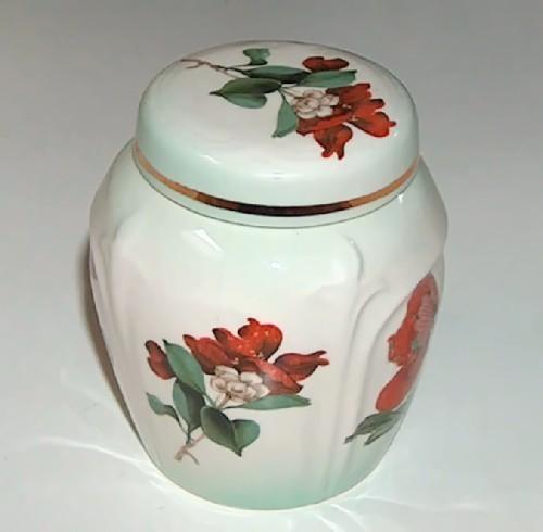 Royal Worcester Palissy Ginger Jar