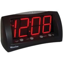 Westclox 66705 1.8'' Oversized Snooze Alarm Clock - $36.80