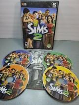 The Sims 2 ~ Base Game Original (PC Games CD-ROM, 2004) 4 Set Disc  - $14.80