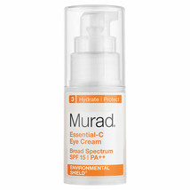 Murad Essential-C Eye Cream SPF15 PA++ 0.5 fl oz / 15mL  AUTH - $17.81
