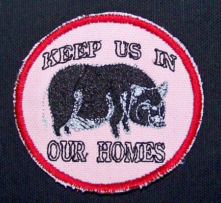 Embroidered custom patches stable business rescue  political image 2