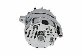 SB Ford 65-89 Mechanical Fuel Pump Two Valve M1G Style Alternator 110 Amp Chrome image 5